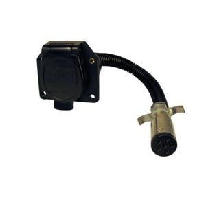 Boat Trailer 6 Way Pole To 7 Way Receptical Adapter