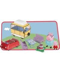 Peppa Pig Fun in the Sun Vehicle Playset with Camper Van  &  Car