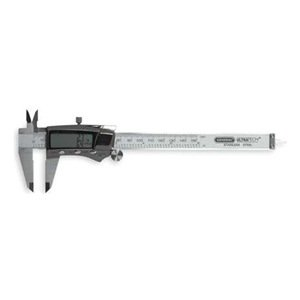 Fractional Digital Caliper, 0 to 6 In