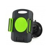 Universal 360 Degree Rotation Suction Cup Car Mount Holder for Ipad MINI + More - Green + Black