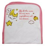 Pink Care Bears Baby Star Search Burp Cloth - 1