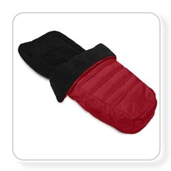Baby Jogger Footmuff Color: Crimson front-816361