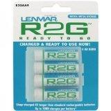 Lenmar Ready-2-Go R2GAA4   1.2V 2150mAh Rechargeable NiMH AA Battery (4 -Pack)
