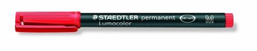 Staedtler Lumocolor Marqueur Permanent 317M,3+1 ?Tui Gratuit