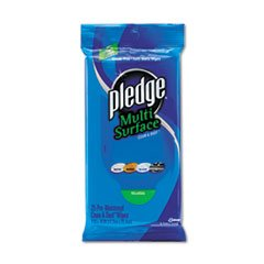 Multi-Surface Cleaner Wet Wipes, Cloth, 7 X 10, 25/Pack, 12/Carton front-531750