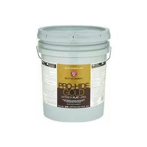 Pratt Lambert Pro Hide Gold Flat Latex Exterior House Paint Industrial Scientific