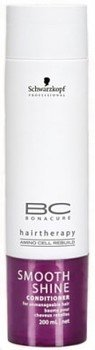 Schwarzkopf BC Bonacure Smooth Shine Conditioner for for Unmanageable Hair 200ml/6.8oz