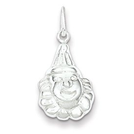Genuine IceCarats Designer Jewelry Gift Sterling Silver Clown Charm