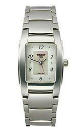 Tissot T10 White Mother-of-Pearl Diamonds Quartz Trend Women's watch #T073.310.11.116.00