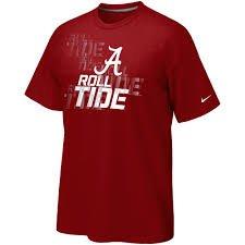 Nike Alabama Crimson Tide Youth Practice T-shirt - Crimson (Large) from Nike