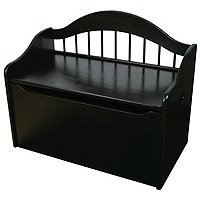 KidKraft Limited Edition Toy Box - Black
