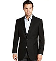 Big & Tall Machine Washable 2 Button Blazer
