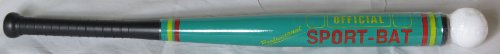 """28"" Official Plastic Sport Baseball Bat with Ball"
