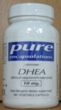 Pure Encapsulations - Dhea Micronized 10Mg 180 Caps- 2 Packs