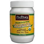 Nutiva Nutiva, Coconut Oil, Organic Extra Virgin, 29 oz (823 g)