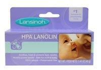Lansinoh Lanolin Nipple Cream, 100% Natural Lanolin Cream for Breastfeeding, 1.41 oz Tube