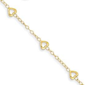 Genuine IceCarats Designer Jewelry Gift 14K Heart