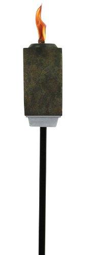 TIKI 1112341 Lamplight Slate Resin 3-in-1 Torch