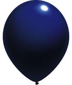 Amscan International Lot de 50 ballons en Latex Bleu marine 27,5 cm