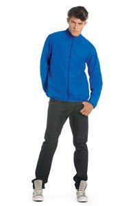 B&C Collection Mens Dynamic Light Pack Windbreaker active jacket - XX-Large, Royal Blue