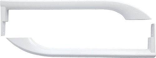 Frigidaire 5304486359 PS9865034 5304497105 AP5949298 WHITE DOOR HANDLES (SET) Model: 5304497105 by New Genuine OEM Frigidaire, Model: , Outdoor & Hardware Store (Frigidaire Door Handle 242059504 compare prices)