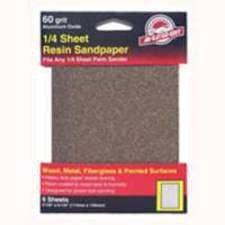 Ali Industries 6Pk 4X5 60G Sandpaper 5033 Sander - Grinder Accessories