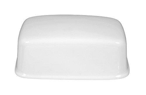 Couvercle pour beurrier 1/2 blanc uni pfd lénore de la marque seltmann weiden