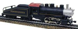 Model Power HO 0-4-0 Shifter w/Tender, PRR MDP96635 (Model Power Ho Trains compare prices)