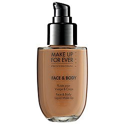 MAKE UP FOR EVER Face & Body Liquid Makeup Alabaster Beige 32