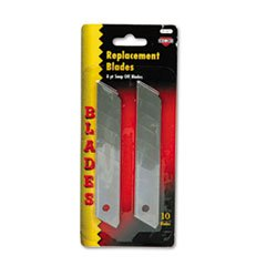 Snap Blade Utility Knife Replacement Blades, 10/Pack back-969182