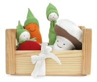 Organic Egyptian Cotton Veggies and Crate - Fair Trade