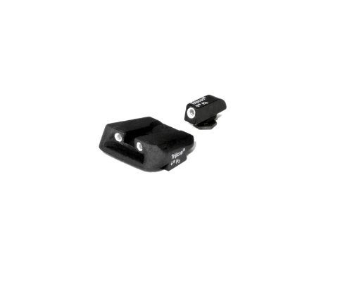 Glock Pistol 3 Dot Front And Novak Rear Night Sight Set