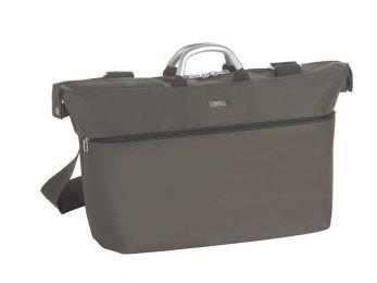 Erweiterbare Reisetasche von Lexon, taupe