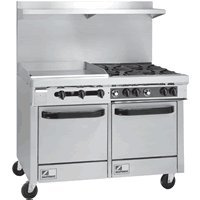48 Gas Range With Griddle front-635238