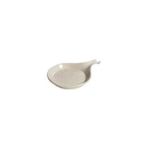 Tuxton Bep-114 18 Oz. Eggshell Fry Pan Server - 12 / Cs