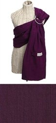 Maya Wrap Lightly Padded Ring Slings - Plum - Small