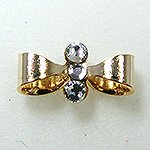 Jewelry Nail プリティネイル チャーミングリボンー2 ゴールド PNー0301G