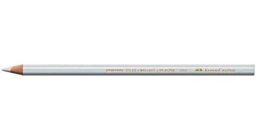 FABER-CASTELL Crayon marqueur universel 2251 Spécial surfaces lisses Blanc