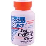 Doctor's Best Best Digestive Enzymes, Vegetable Capsules, 90