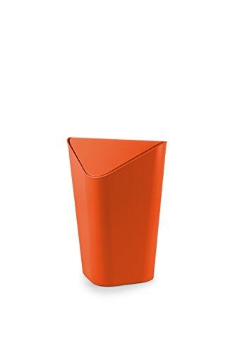 Umbra 086900-460 Poubelle d'Angle Orange 36,83 x 27,94 x 27,94 cm