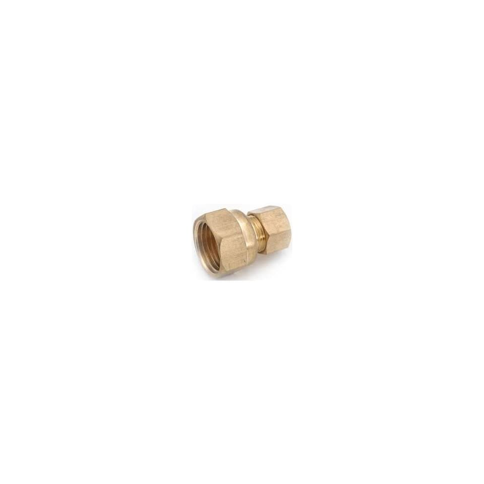 Anderson Metal Corp Adapter 3/8M Cmp 3/8 Flare 54822 0606/52701