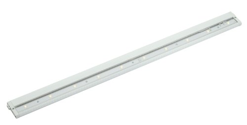 12317Wh Design Pro Led 30In 14W Modular 2.0 24V Undercabinet Light, White Finish With Clear Glass Diffuser