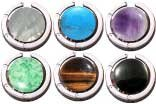 200 Pc Gemstone FOLDING Mixer, Amethyst, Tiger Eye, Turquoise, Jade, Onyx, Pearl w/pouches & Gift Box