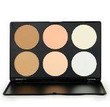 Chic MSQ Royal Care Cosmetics 6 Color Powder Foundation Palette Be Elegant Women Face-Lift Makeup Tools Elegant