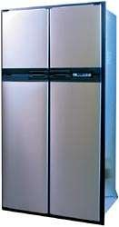 Norcold 1210IMSS 12 cu. ft. 4 Door Refrigerator (2-Way AC/LP, with Ice Maker Stainless)