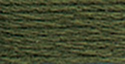 DMC Pearl Cotton Skeins Size 5 27.3 Yards Dark Avocado Green 115 5-935; 12 Items/Order