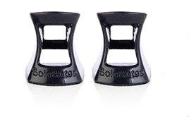 SoleMates High Heeler 1 Pr High Heel Protectors, Wide, Black