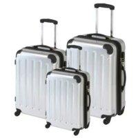Polycarbonat Kofferset, Koffer, Trolley 3 tlg.