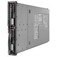 """HP ProLiant BL20p G3 - Serveur - lame - 2 voies - 1 x Xeon 3.6 GHz - RAM 1 Go - SCSI - hot-swap 3.5"""" - Aucun disque dur"""