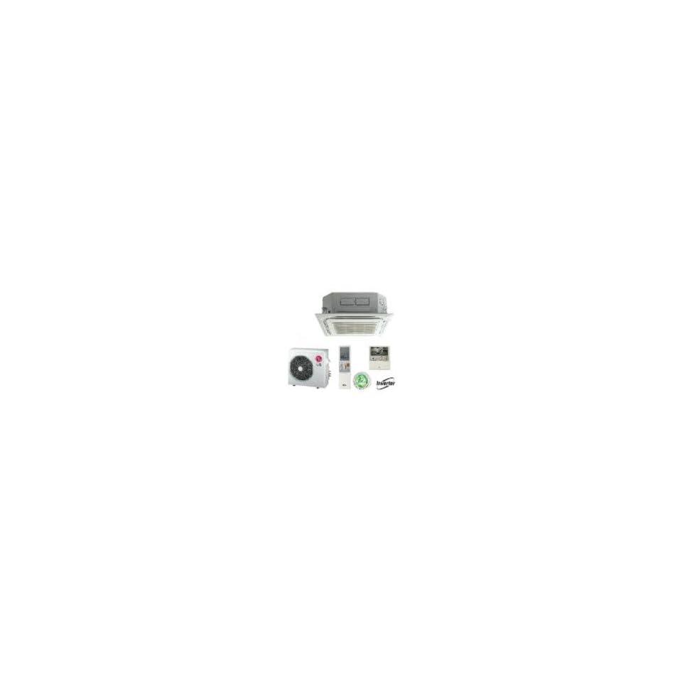 LG LC246HV Ceiling Cassette Single Zone Mini Split Heat Pump System   24000 BTUs